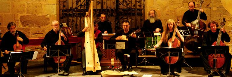 Jordi Savall & Hespèrion XXI. Photo (c) David Ignaszewski