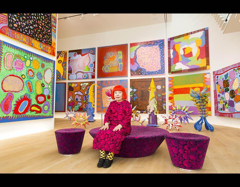 Yayoi Kusama Infinity Mirrors Cleveland Museum Of Art