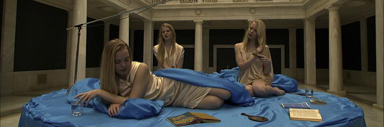 Song (detail), 2011. Ragnar Kjartansson (Icelandic, born 1976). HD video; 6 hours. © Ragnar Kjartansson; Courtesy of the artist, Carnegie Museum of Art, Pittsburgh, Luhring Augustine, New York, and i8 Gallery, Reykjavik.