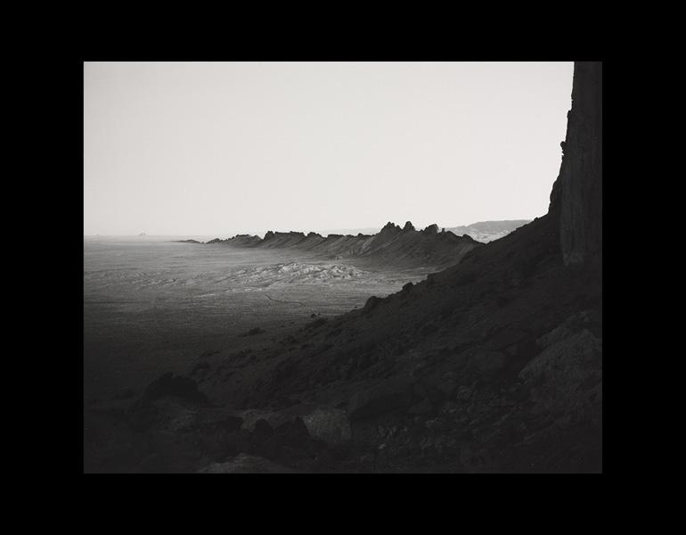 Desert Form #1, New Mexico, 1984. William Clift (American, b. 1944). Gelatin silver print; 19.5 x 24.5 cm. Gift of Mr. and Mrs. Thomas A. Mann 1990.110 © 1984 William Clift