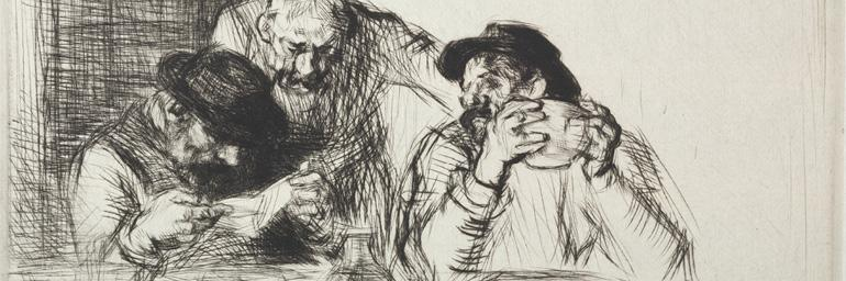 The Letter, 1925. Edmund Blampied (British, 1886–1966). Drypoint. The Cleveland Museum of Art, The Lucy S. Greene Collection 1956.631