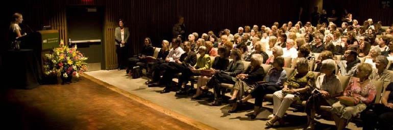 A variety of artists, scholars, and curators speak each year at the museum.