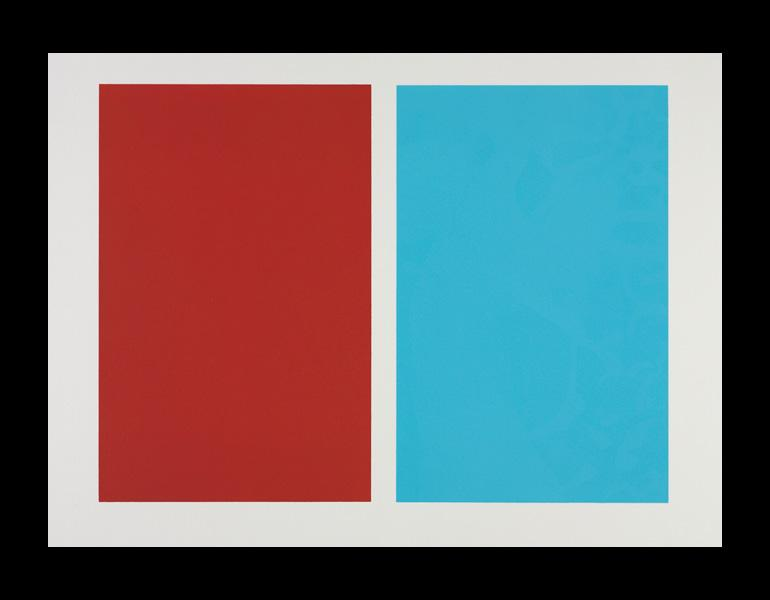 Untitled, 1963. John McLaughlin (American, 1898–1976). Lithograph; 55.8 x 76.2 cm. The Cleveland Museum of Art, The A. W. Ellenberger Sr. Endowment Fund 2008.57. Copyright courtesy of the estate of John McClaughlin and Franklin Parrasch Gallery.