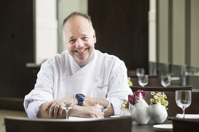 Celebrity Chef, Tony Mantuano. Photo by Jeff Kauck