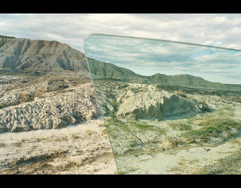 Badlands, from My Dakota, 2005–11. Rebecca Norris Webb (American, born 1956). Type- C Photographic Print, 26 x 35 ½ in. Courtesy of the artist.