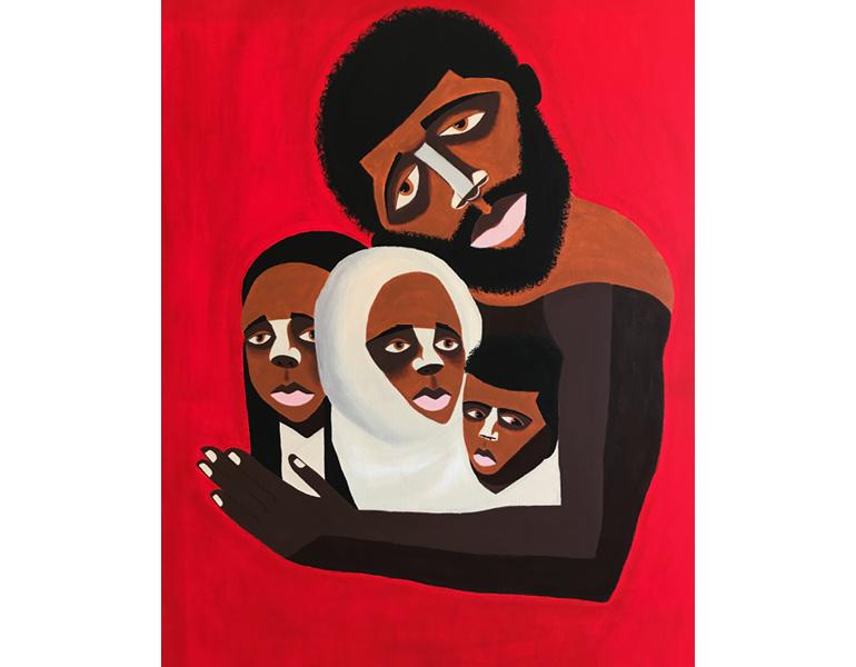 Black Family: The Myth of the Missing Black Father, 2019. © Antwoine Washington