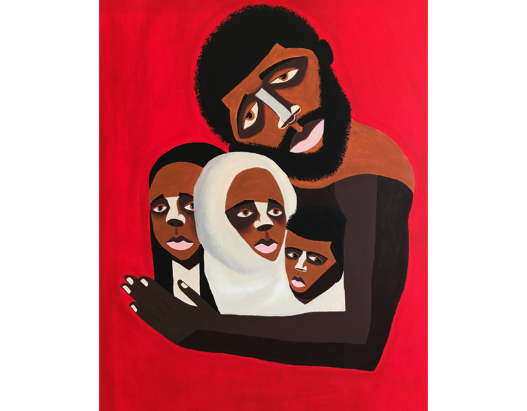 Black Family: The Myth of the Missing Black Father, 2019. © Antwoine Washington