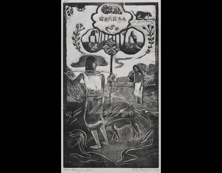 Paul Gauguin (French, 1848-1903). Noa Noa: Noa Noa (Fragrant Scent). Woodcut. 1929.878.9.