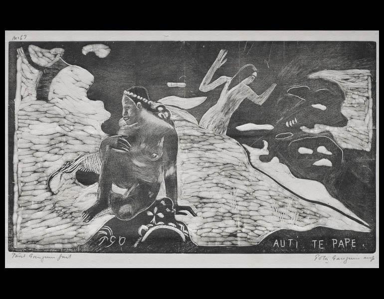 Paul Gauguin (French, 1848-1903). Noa Noa: Women at the River. 1929.878.4.
