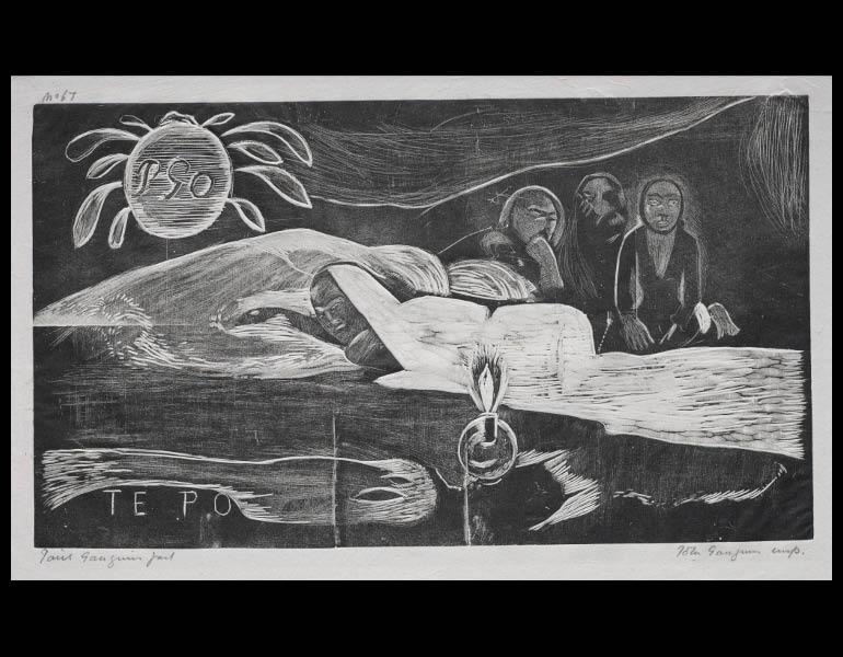 Paul Gauguin (French, 1848-1903). Noa Noa: Te Po (Eternal Night). 1929.878.7.