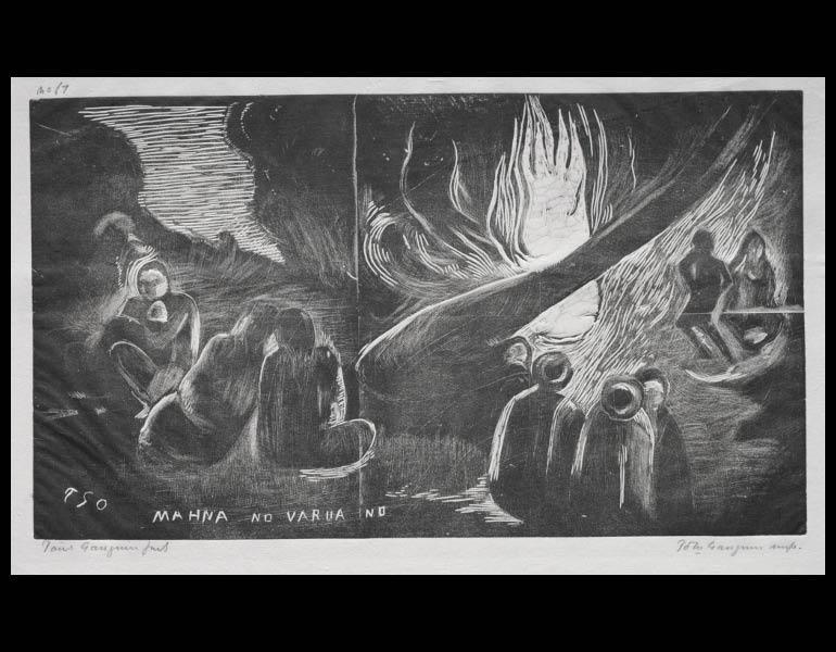 Paul Gauguin (French, 1848-1903). Noa Noa: The Devil Speaks. 1929.878.8.