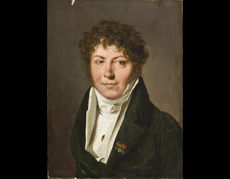 Portrait of a Man, about 1814–15. Louis Léopold Boilly (French, 1761–1845). Oil on canvas; 22.2 x 16.8 cm. Allen Memorial Art Museum, Oberlin College, Oberlin, Ohio, General Acquisition Fund 1967.5