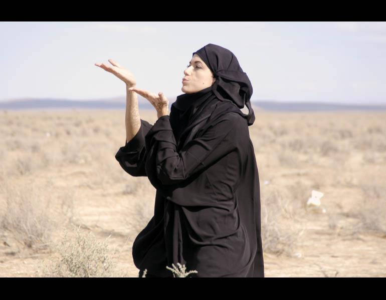 Production still and stills from The Casting, 2007. Omer Fast (Israeli, born Jerusalem, 1972; active Berlin). Four-channel video installation, color, sound; 14 min. (edition 4/6). Purchase from the J. H. Wade Fund 2009.8.1–4. Image © Omer Fast)