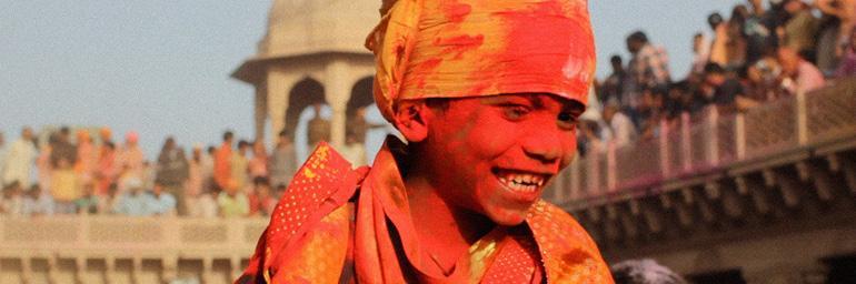 Radhe, Radhe: Rites of Holi. Photo by Craig Marsden/ Prashant Bhargava