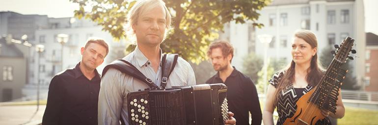 Frode Haltli & Emilia Amper. Photo by Andreas Ulvo