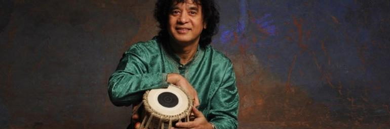 Zakir Hussain. Photo by Jim McGuire