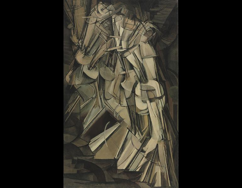 Duchamp nude descending a staircase galleries 282