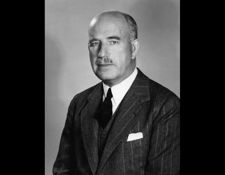 Museum Director William Mathewson Milliken, 1949. Photograph Collection, CMA Archives.