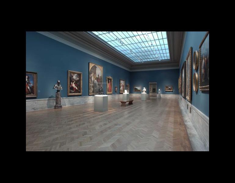 Re-installation, gallery 212, 2008. Registrar's Gallery Views, CMA Archives.