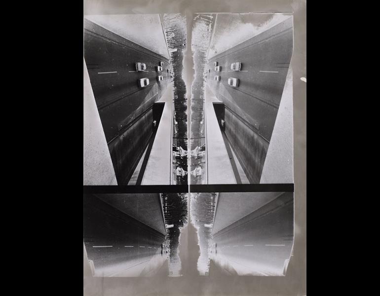 Untitled (Straẞe), 1971. Sigmar Polke (German, 1941-2010). Gelatin silver print; 24 x 18 cm. Michael Werner Gallery, New York and London, POG 4103. © 2014 Estate of Sigmar Polke / Artists Rights Society (ARS), New York / VG Bild-Kunst, Bonn, Germany