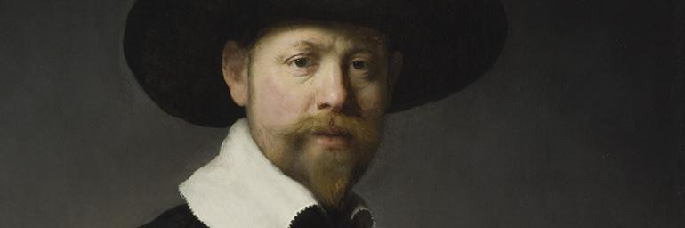 Portrait of Marten Looten (detail), 1632. Rembrandt van Rijn (Dutch, 1606–1669). Oil on wood; 92.7 x 76.2 cm. Los Angeles County Museum of Art, Gift of J. Paul Getty 53.50.3. Image © 2009 Museum Associates/LACMA/Art Resource, NY