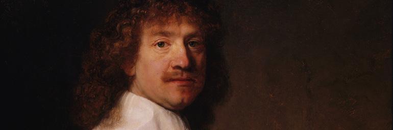 Portrait of a Man Holding a Black Hat (detail), about 1639. Rembrandt van Rijn (Dutch, 1606–1669). Oil on wood