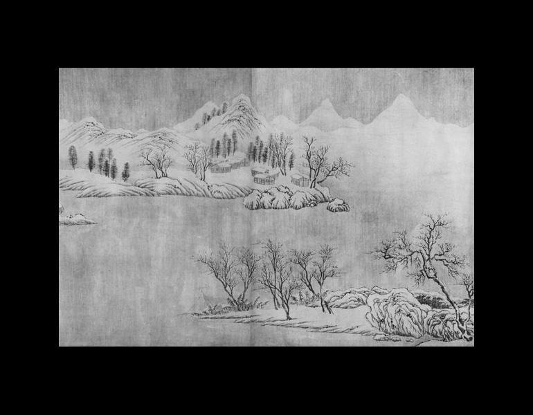 Chang Jiang ji xue tu by Wang Wei (699-759), part 2.
