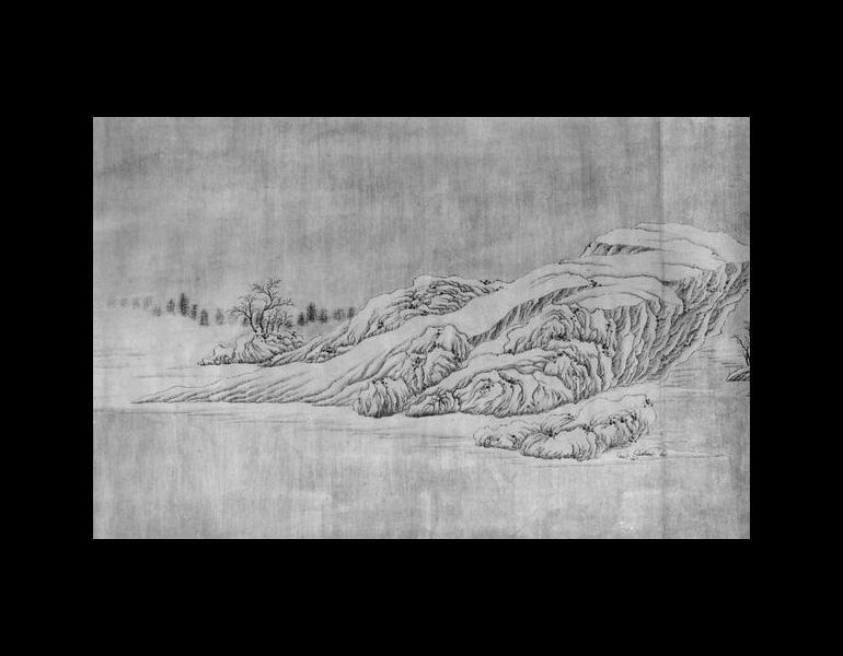 Chang Jiang ji xue tu by Wang Wei (699-759), part 3.