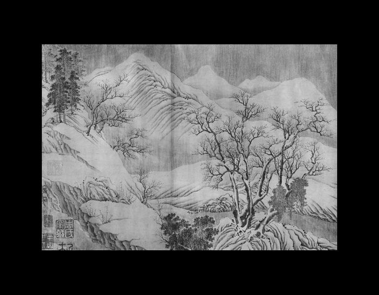Chang Jiang ji xue tu by Wang Wei (699-759), part 6.