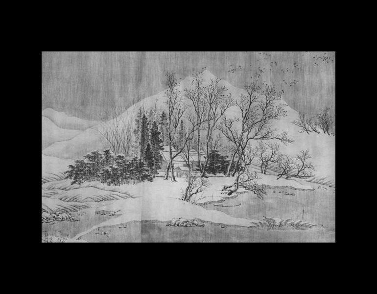 Chang Jiang ji xue tu by Wang Wei (699-759), part 5.