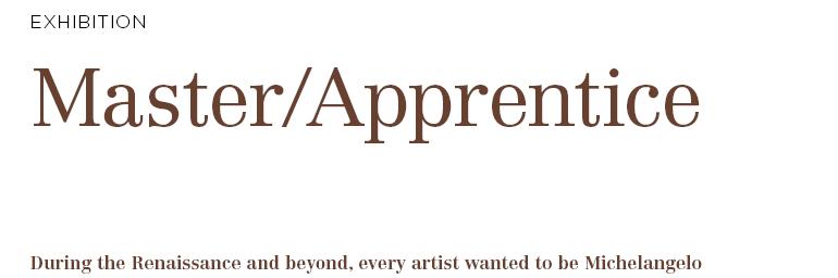 Master/Apprentice