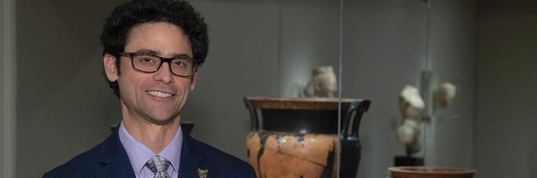 Seth Pevnick, Curator of Greek and Roman Art