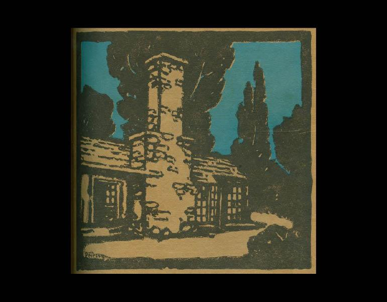 Cover art from The Craftsman 14 (5), August 1908. IML 977736