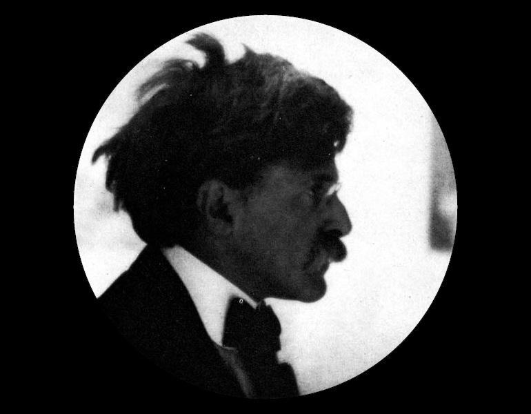 Alfred Stieglitz, Esq. by Alvin Langdon Coburn, Camera Work, January 1908, 21:15.