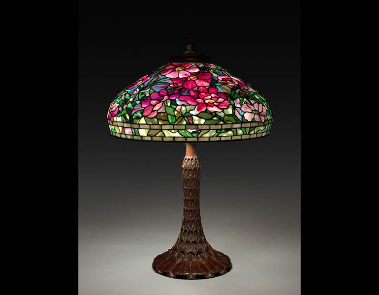 Tiffany In Bloom Stained Glass Lamps Of Louis Comfort