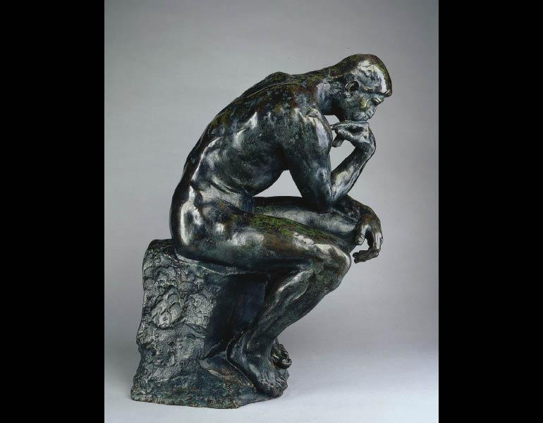 rodin s the thinker cleveland museum of art