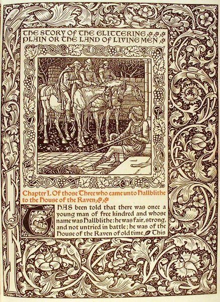 William Morris and the Kelmscott Press | Cleveland Museum ...
