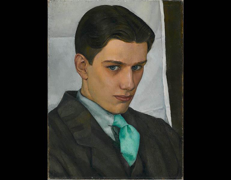 Luigi Lucioni (American, 1900–1988). Paul Cadmus, 1928. Oil on canvas, 16 x 12 1/8 in. (40.6 x 30.8 cm). Brooklyn Museum, Dick S. Ramsay Fund, 2007.28