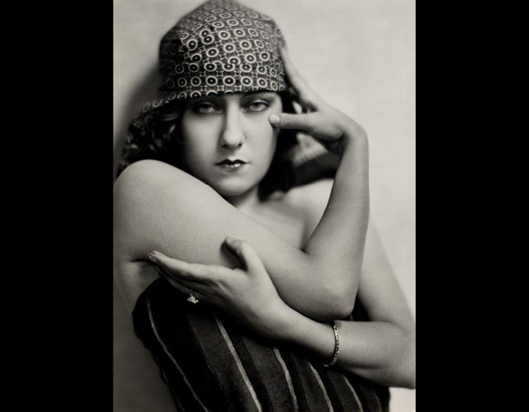 Nickolas Muray (American, 1892–1965). Gloria Swanson, circa 1925. Gelatin silver print, 12 3/4 x 9 3/8 in. (32.4 x 23.8 cm). George Eastman House, International Museum of Photography and Film, Rochester, New York, Gift of Mrs. Nickolas Muray. © Estate of Nickolas Muray