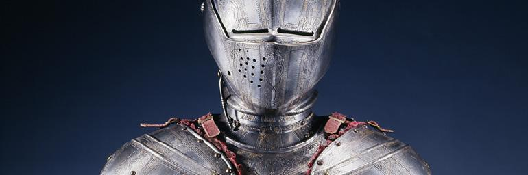 Half Suit Armor, c. 1590. Etched Steel; 12-7/16 x 10-7/8 x8-1/2 in. John L. Severence Fund 1996.299