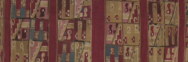 Wari Tunic, c. 700-1100. Wari Culture. Tapestry; 42-15/16 x 45-1/2 in. William R. Carlisle 1956.84
