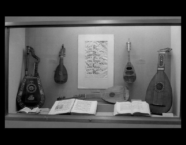 Musical Instruments from the Charles G. King Collection, and Medieval Music Manuscripts lent by Otto F. Ege, 1938. IML 962897