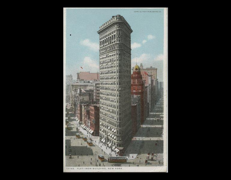 Flat-Iron Building, New York