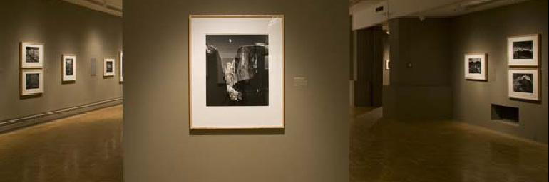 More than 100 images spanning the career of Ansel Adams were featured in this exhibition