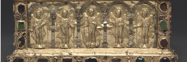 Portable Altar of Countess Gertrude (detail), c. 1045. Germany, Lower Saxony, Hildesheim, 11th century. 10.5 x 27.5 x 21 cm. The Cleveland Museum of Art, Gift of the John Huntington Art and Polytechnic Trust 1931.462.a