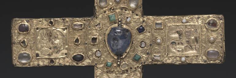 Ceremonial Cross of Countess Gertrude (detail), c. 1045. Germany, Lower Saxony, Hildesheim. 24.15 x 21.6 cm. Gift of the John Huntington Art and Polytechnic Trust 1931.55