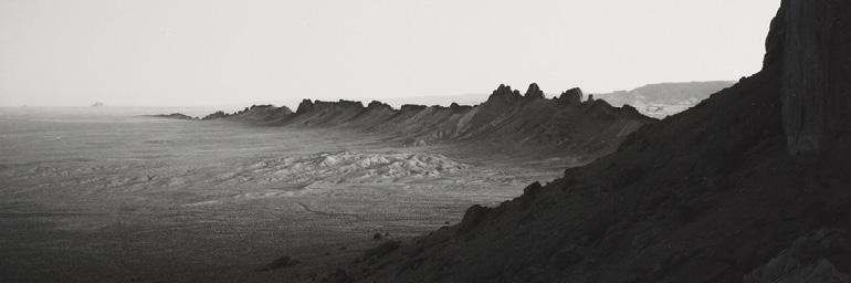 Desert Form #1, New Mexico (detail), 1984. William Clift (American, b. 1944). Gelatin silver print; 19.5 x 24.5 cm. Gift of Mr. and Mrs. Thomas A. Mann 1990.110 © 1984 William Clift