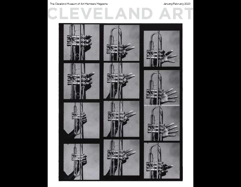 """Cleveland Art"" Jan-Feb 2020 magazine cover."