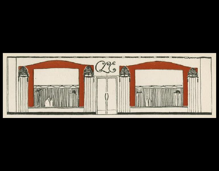 """Les Feuillets d' Art, Volume VI, le feuillets de la mode, """"Un Conte,"""" 74. IML 985385"""