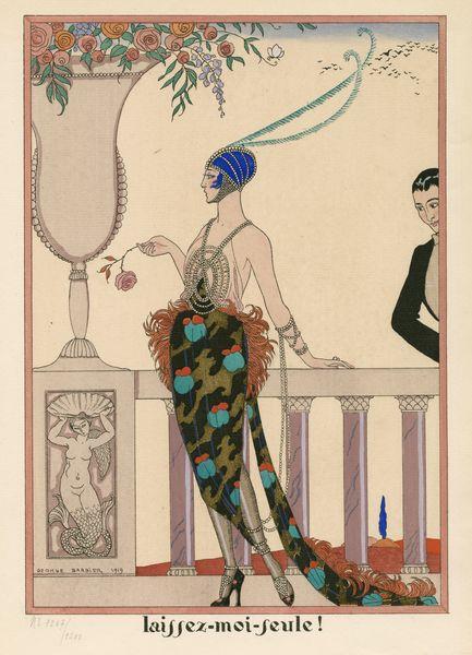 """Les Feuillets d' Art, Volume II, le feuillets de la mode, """"laissez-moi-seule!"""" INL 985375"""